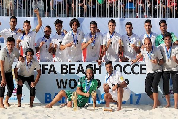 سهمیه جام جهانی فوتبال ساحلی، آسیا سه تیم