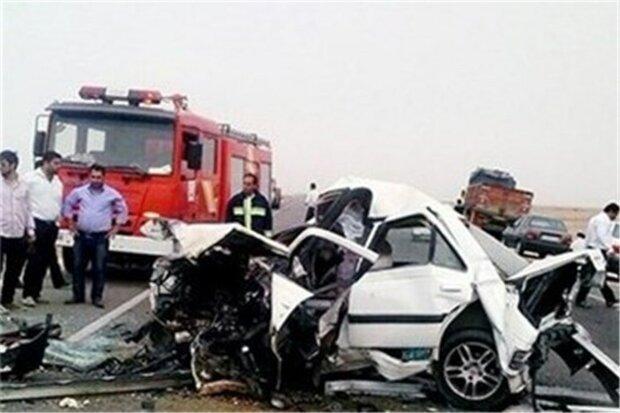 سانحه جاده ای در محور ساوه-همدان، یک کشته و 2مصدوم برجای ماند