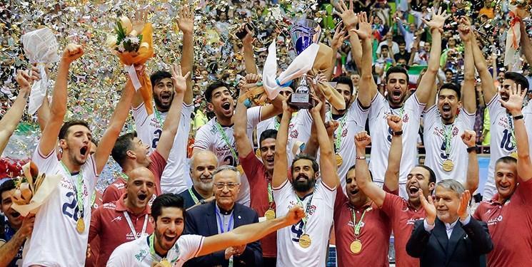 Worldofvolley: سومین قهرمانی والیبال ایران در آسیا ثبت شد