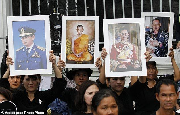 شروع مراسم پنج روزه تشییع جنازه پادشاه تایلند