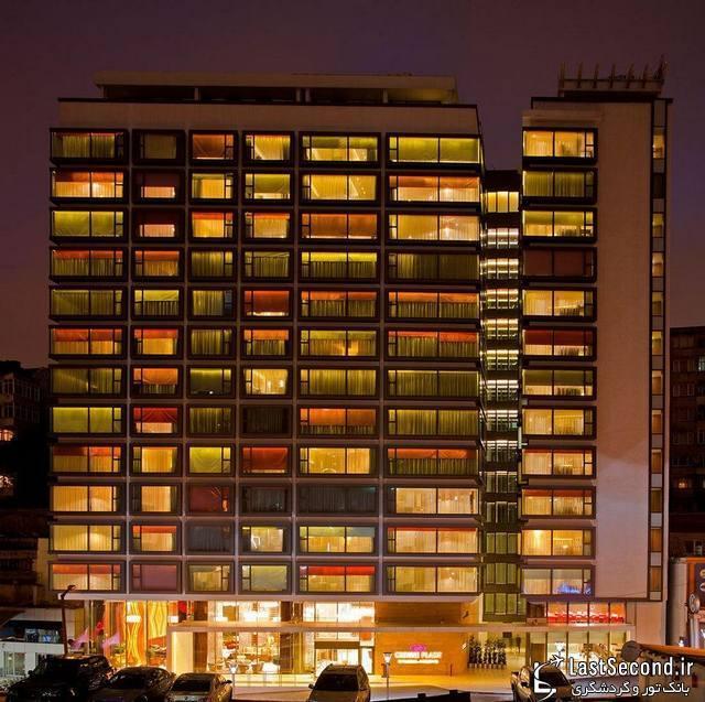 هتل کرون پلازای هاربیه، استانبول