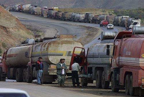 ارتش سوریه تانکرهای نفت قاچاق به ترکیه را منهدم کرد