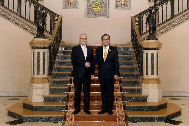 ملاقات سفیر کشورمان در بانکوک با نخست وزیر تایلند