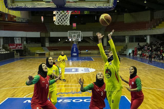 دختران ملی پوش بسکتبال ایران به هند رسیدند