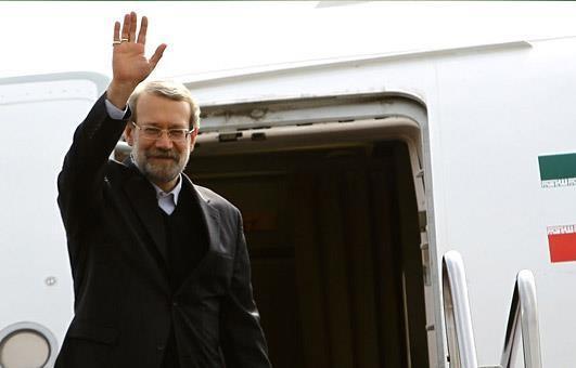 رئیس مجلس وارد فرودگاه ترکیه شد