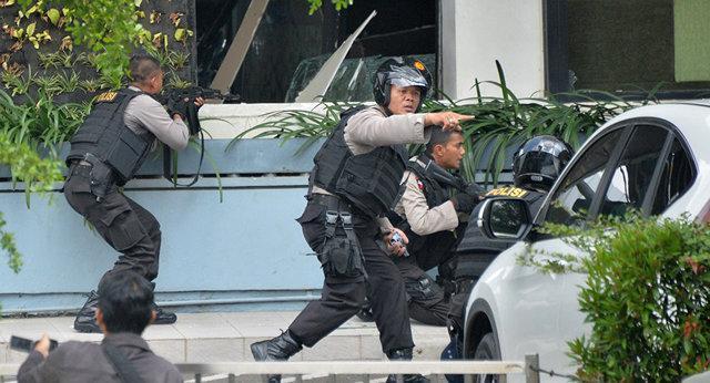 حمله انتحاری به مقر پلیس اندونزی با دست کم 7 کشته