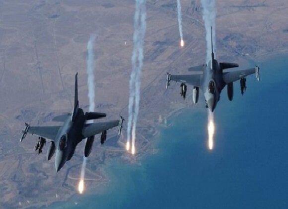 حمله جنگنده های عراقی به مواضع داعش در ارتفاعات حمرین