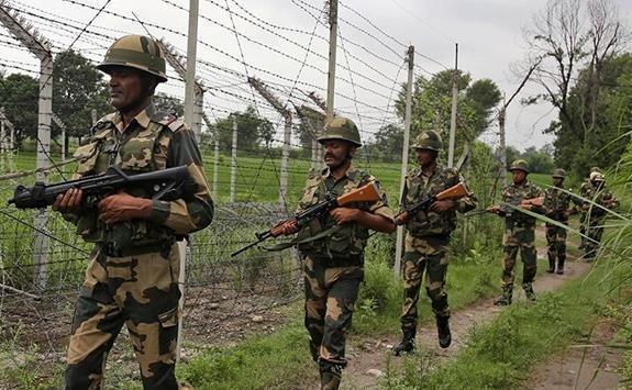 درگیری نیروهای هند و پاکستان در مرز کشمیر