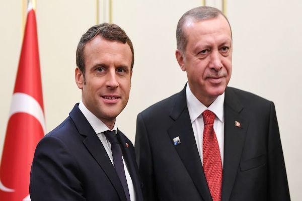 رؤسای جمهوری ترکیه و فرانسه درباره کرونا تبادل نظر کردند
