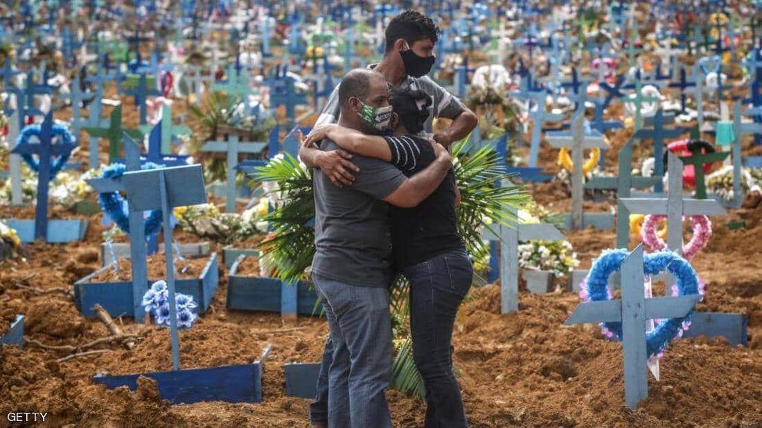 شمار مبتلایان به کرونا در برزیل از یک میلیون نفر گذشت