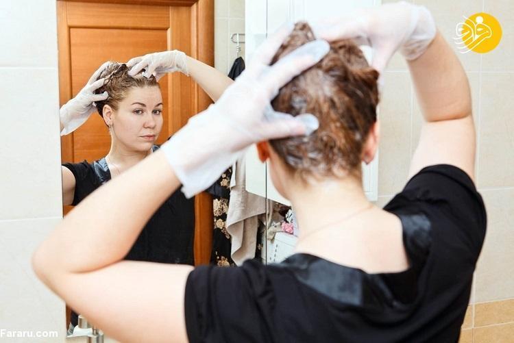 چگونه مو هایمان را در خانه رنگ کنیم؟