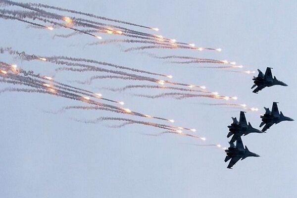 رهگیری هواپیماهای آمریکائی توسط جنگنده های روسیه