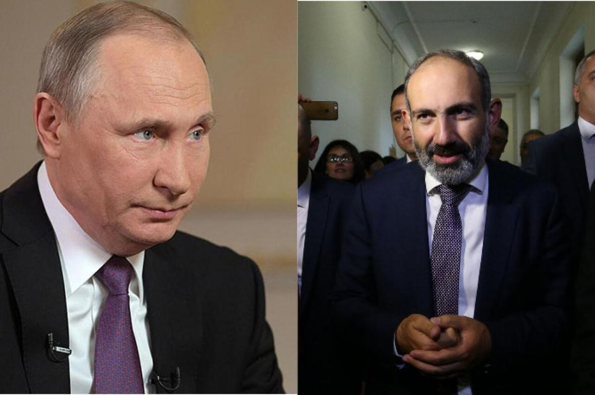 خبرنگاران پوتین بر ضرورت توقف فوری خصومت ها در قره باغ تاکید نمود