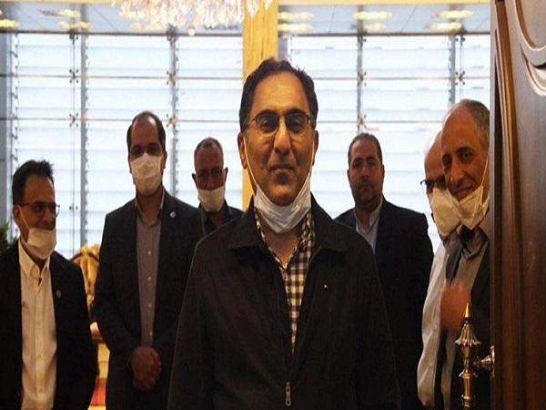سیروس عسگری به ایران بازگشت