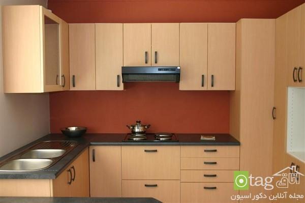 طراحی آشپزخانه کوچک به شیوه ای مدرن و خلاقانه همراه با عکس