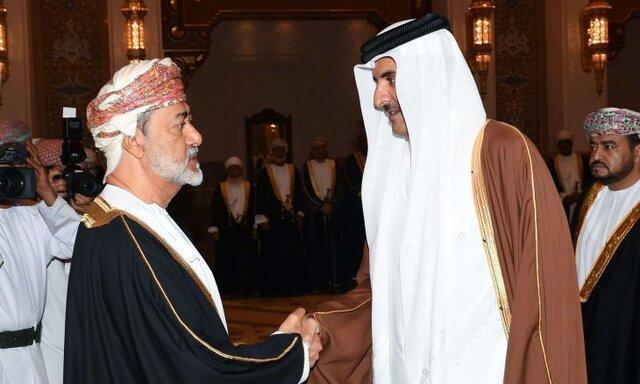امیر قطر: با عمان روابط همکاری ممتازی داریم
