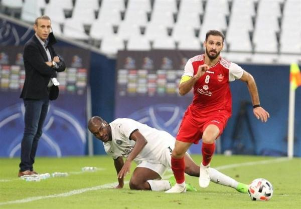 نوراللهی: بازی فردا می تواند برای پرسپولیس تاریخی باشد