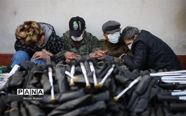 کشف محموله پنجه بوکس قاچاق در بازار تهران