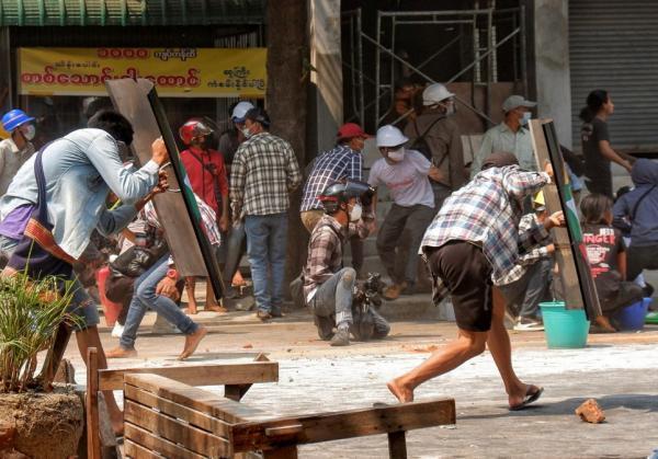 میانمار؛ 38 کشته در سرکوب اعتراضات علیه کودتاگران