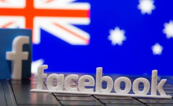 رفع فیلتر صفحات خبری استرالیایی در فیس بوک