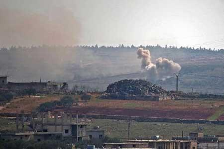 تروریست ها ادلب را 36 بار گلوله باران کردند