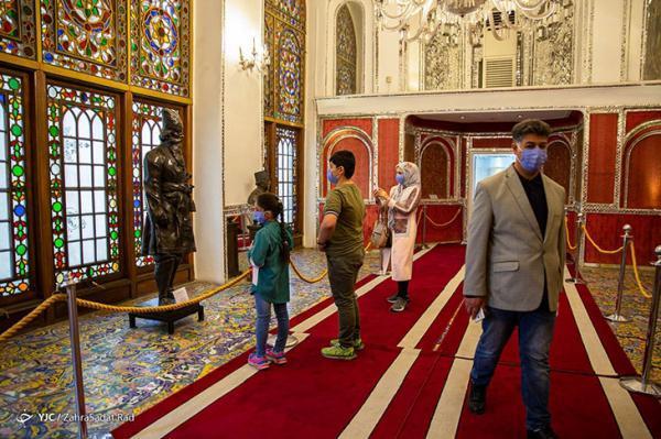 بازدید گردشگران نوروزی از کاخ گلستان، تصاویر