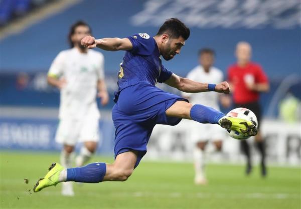 لیگ قهرمانان آسیا، تساوی یک نیمه ای استقلال مقابل الاهلی