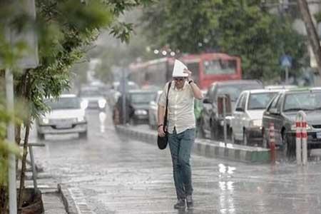 بارش در 20 استان ایران ، ورود سامانه بارشی جدید از چهارشنبه