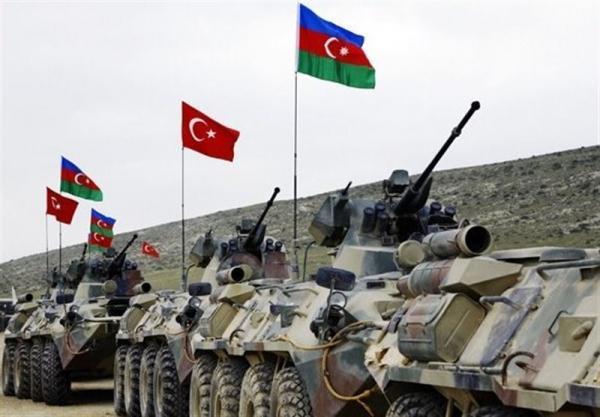 رزمایش مشترک جمهوری آذربایجان و ترکیه