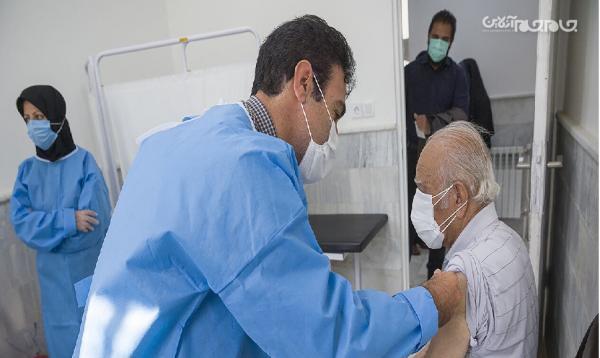 تزریق واکسن کرونا به 2500 قمی در یک روز