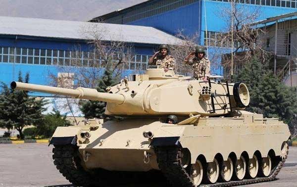 میدان های نبرد زمینی زیر سیطره تانک های ساخت ایران