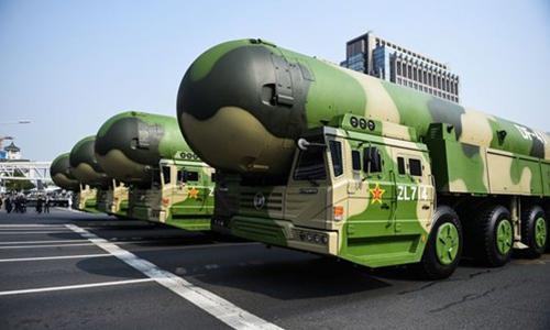 روزنامه دولتی چین: باید برای جنگ هسته ای با آمریکا آماده شویم