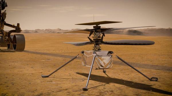 نبوغ در تدارک هشتمین پرواز در مریخ است