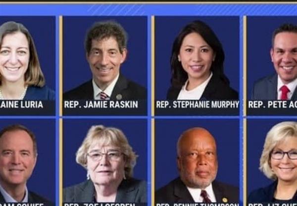 اعضای کمیته تحقیق درباره یورش به کنگره آمریکا تعیین شدند