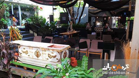 کافه مرگ؛جاذبه گردشگری عحیب بانکوک، تصاویر