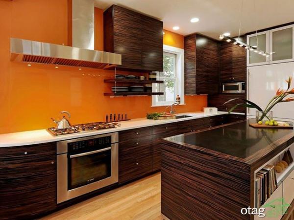 راهنمای انتخاب رنگ آشپزخانه با ایده های نو و بروز