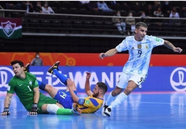 تور ارزان برزیل: جام جهانی فوتسال، آرژانتین با شکست برزیل فینالیست شد، خاتمه رویای سلسائو برای کسب ششمین قهرمانی